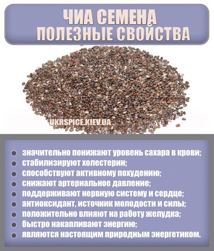 Как употреблять семена чиа правильно – рецепты, польза