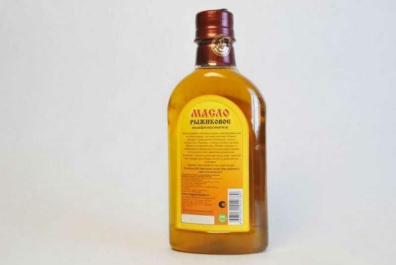 Рыжиковое масло: польза, вред и как принимать