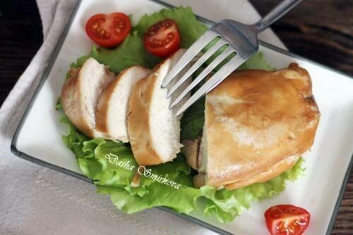 Блюда нежирные из курицы